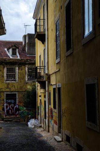 Lissabon steegje